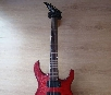 Jackson Dinky RX10D Japan Red Flame Maple!