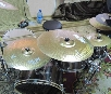 "Набор тарелок Hi-Hat 14"", Crash 19"", Ride 20"", Splash 10"", China. Paiste"