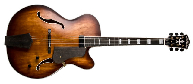 Washburn Guitars J600 Vintage Jazz Box