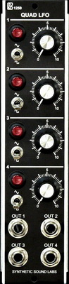 Synthetic Sound Labs 1250 Quad LFO