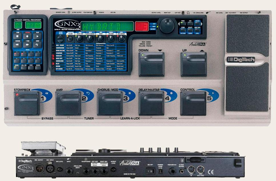 Процессор DigiTech GNX3