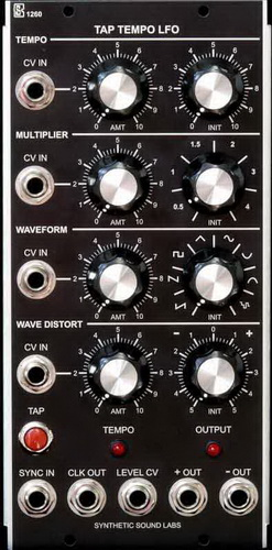 Synthetic Sound Labs Model 1260 Tap Tempo LFO