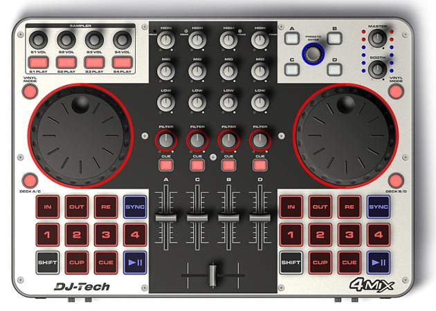 DJ Tech 4Mix
