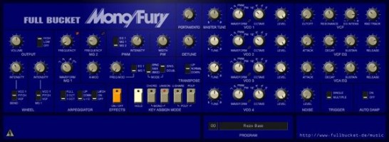 Full Bucket Software Mono/Fury