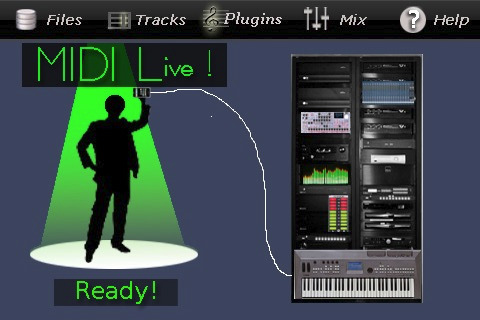 Garren Langford MIDI Live for iPad