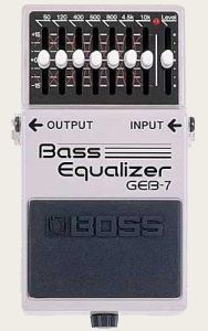 Басовый эквалайзер BOSS GEB-7 Bass Equalizer