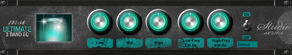 Minimal System Instruments Ultimate 3 Band EQ v1.00
