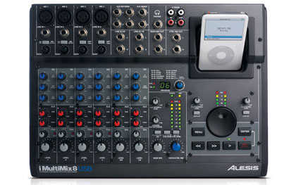 Микшерный пульт ALESIS MultiMix 8USB 2.0