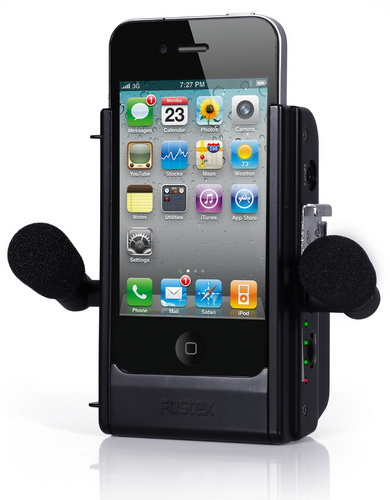 Fostex AR-4i iPhone4
