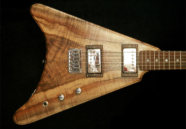 Delaney Guitars The Wedge