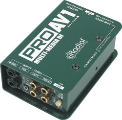 Radial ProAV1 Single-Channel Direct Box