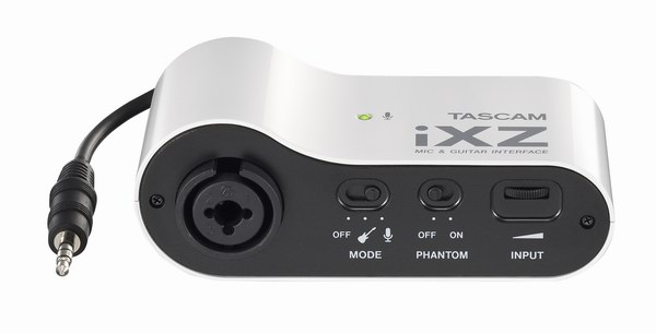 Tascam iXZ iPad, iPhone,  iPod Touch