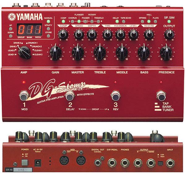 Гитарная аппаратура Yamaha