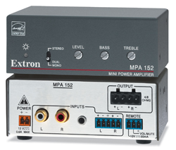 Extron MPA 152 ENERGY STAR