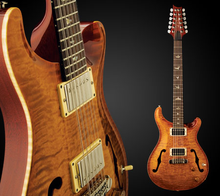 PRS guitars Hollowbody 12-strings