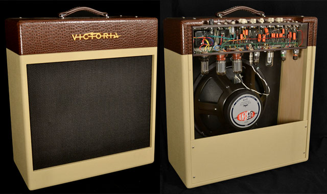 Victoria Amplifier Cherry Bomb