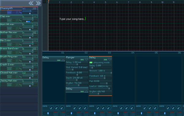 Chaotic Team Music Maker