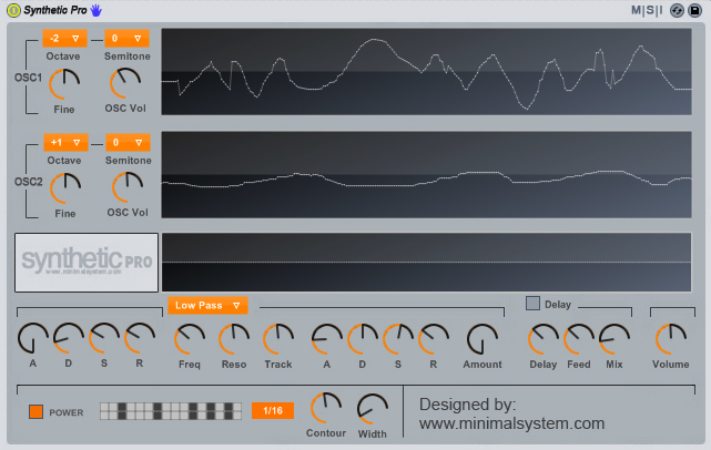 Minimal System Instruments Synthetic Pro v1.00