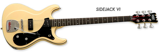 Eastwood Guitars Sidejack VI