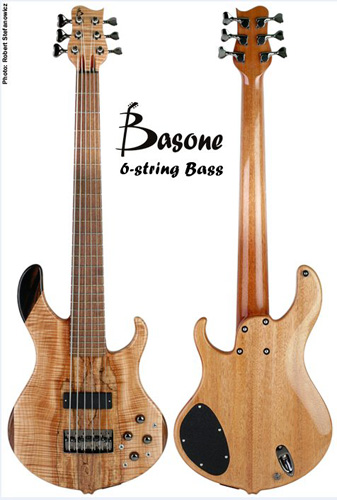 Basone Guitars выпустила 6-струнный бас Basone 6-string Bass