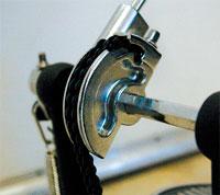 Кулачок для регулирование хода педали басового барабана