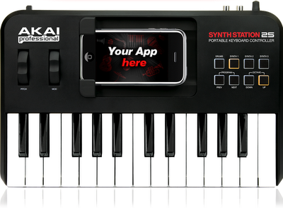 SDK AkaiConnect Synthstation25 iPhone iPod Touch