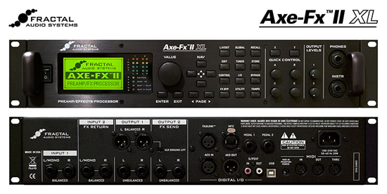 Fractal Audio Systems The Axe-FX II XL