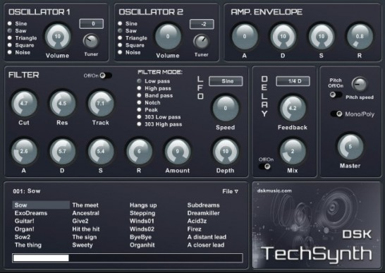 DSK Music TechSynth