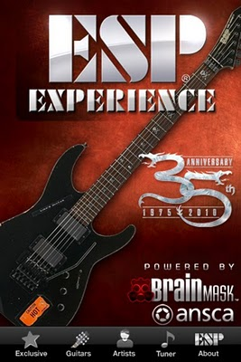 ESP Guitars Brainmask ESP Experience iPhone, iPod Touch, iPad