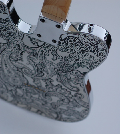 Liquid Metal Guitar LMG-T Paisley