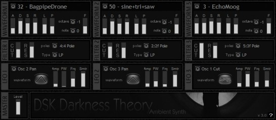DSK Music Darkness Theory 3