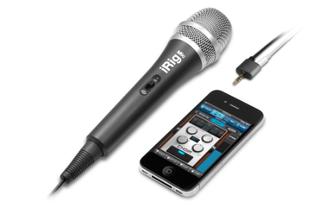 IK Multimedia iRig Mic iPhone iPod touch iPad