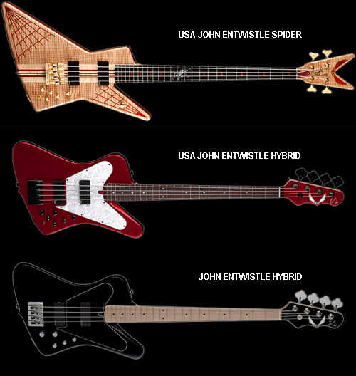 Dean Guitars USA JOHN ENTWISTLE SPIDER USA JOHN ENTWISTLE HYBRID
