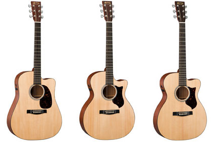 Martin Guitar Performing Artist Series Dreadnought (DCPA4), Grand Performance (GPCPA4) и Orchestra Model (OMCPA4)