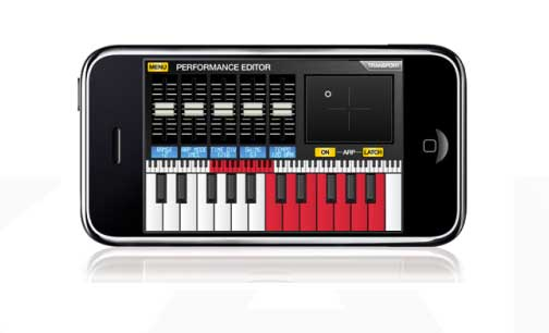 Akai Pro SynthStation For iPhone And iPod Touch